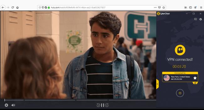 CyberGhost Hulu Unblocked