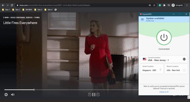 ExpressVPN Hulu Unblock
