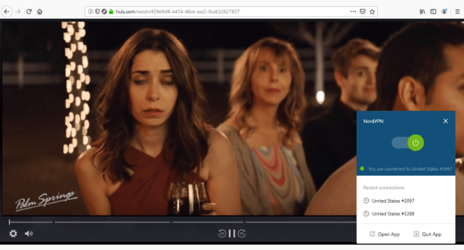 NordVPN Hulu Unblocked