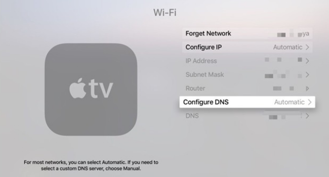 Smart DNS Proxy for Apple TV