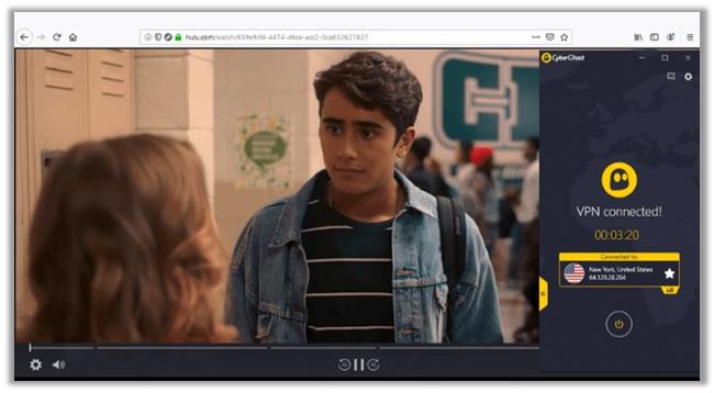 CyberGhost Unblocked Love, Victor On Hulu