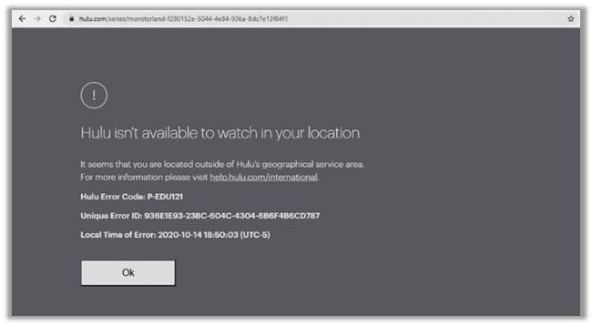 Hulu-Access-Error