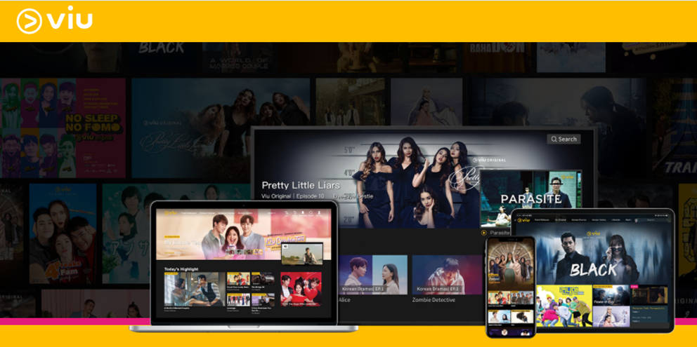 Streaming Services Singapore: Viu