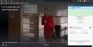 ExpressVPN open Hulu