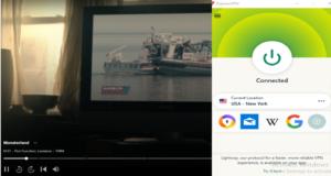 Monsterland through ExpressVPN on Hulu